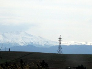 The road to Dmanisi was really nice!  I haven't been south very often, but it isn't bad!