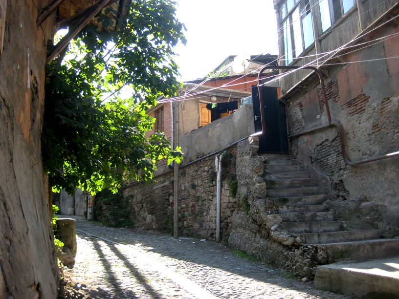 I love the back streets of Old Tbilisi.  There's a lot of beauty there!