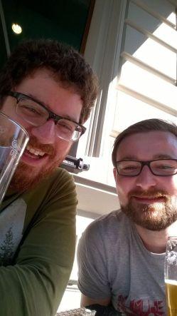 Then we got beer.
